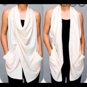 Lululemon tranquillity wrap top jacket sz 4  BNWT